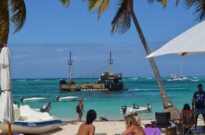 Playa Bibijagua-pirate