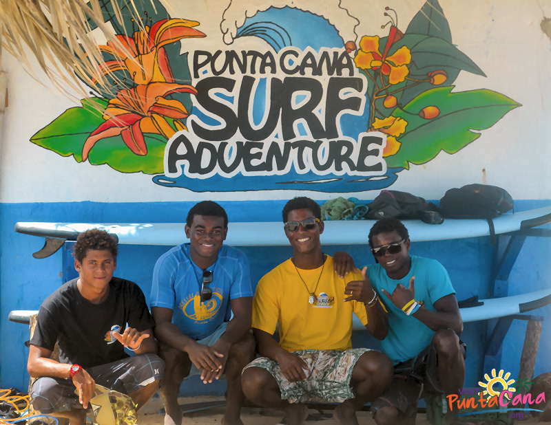 Punta Cana Surfing Adventure-staff