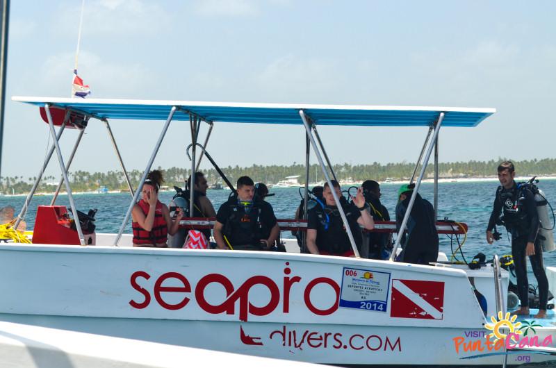 sea pro dive boat